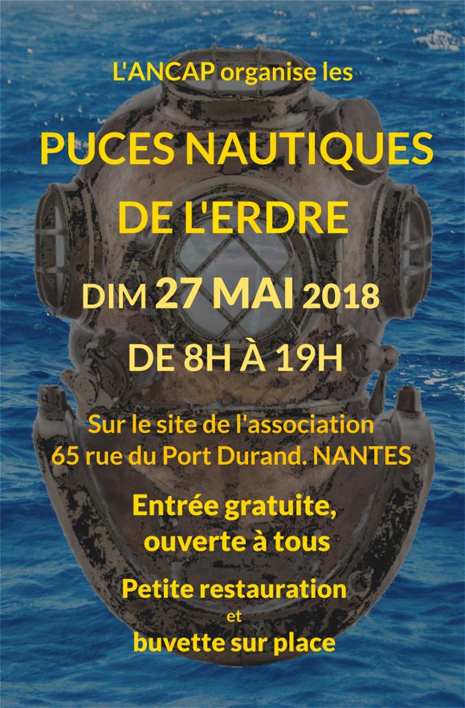 Les Puces Nautique de l'Erdre 2018 - Seconde Edition